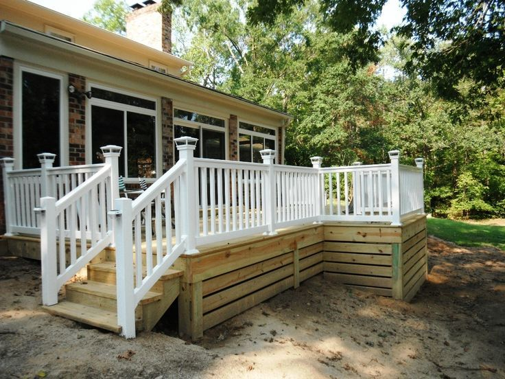 image result for cottage skirting ideas backyard