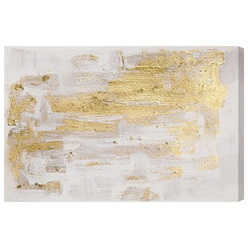 Found it at Joss & Main - Gold Whispers Canvas Print