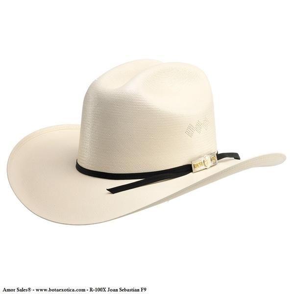 60b5592673e29 Rocha Hats - Straw Collection R100X F-9 Joan Sebastian - Sombrero vaquero  horma Joan