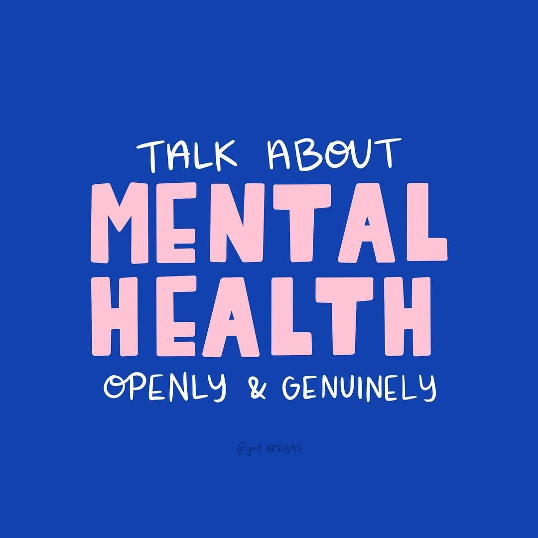 Normalize mental health