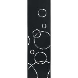 Photo of Hey-Sign Stamp panel curtain – round hole pattern 08 graphite Hey Sign
