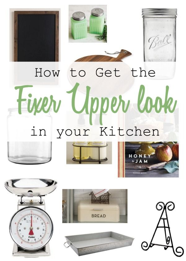 How to Get the Fixer Upper Look in Your Kitchen | Küche