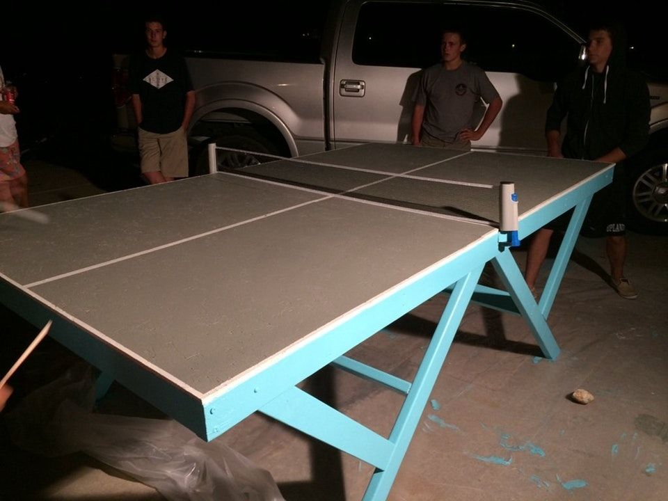 Pin by herb roberts on DIY Ping pong table, Table