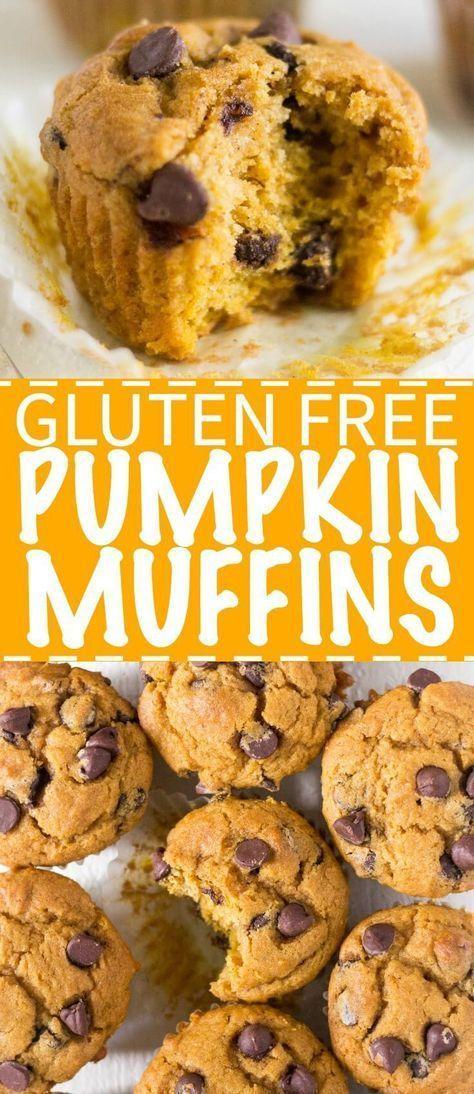 Gluten Free Pumpkin Muffins #glutenfreebreakfasts