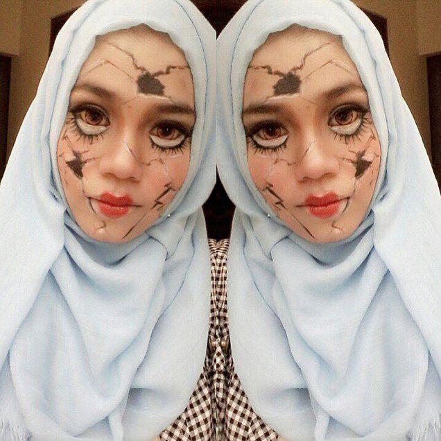 Make Up Halloween Simple Hijab.20 Hijabi Halloween Costumes Made For Modest Women