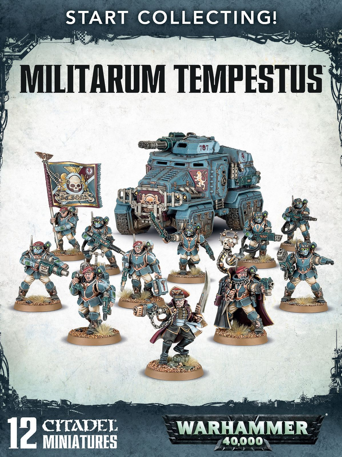 Start Collecting! Militarum Tempestus Miniatures, Game