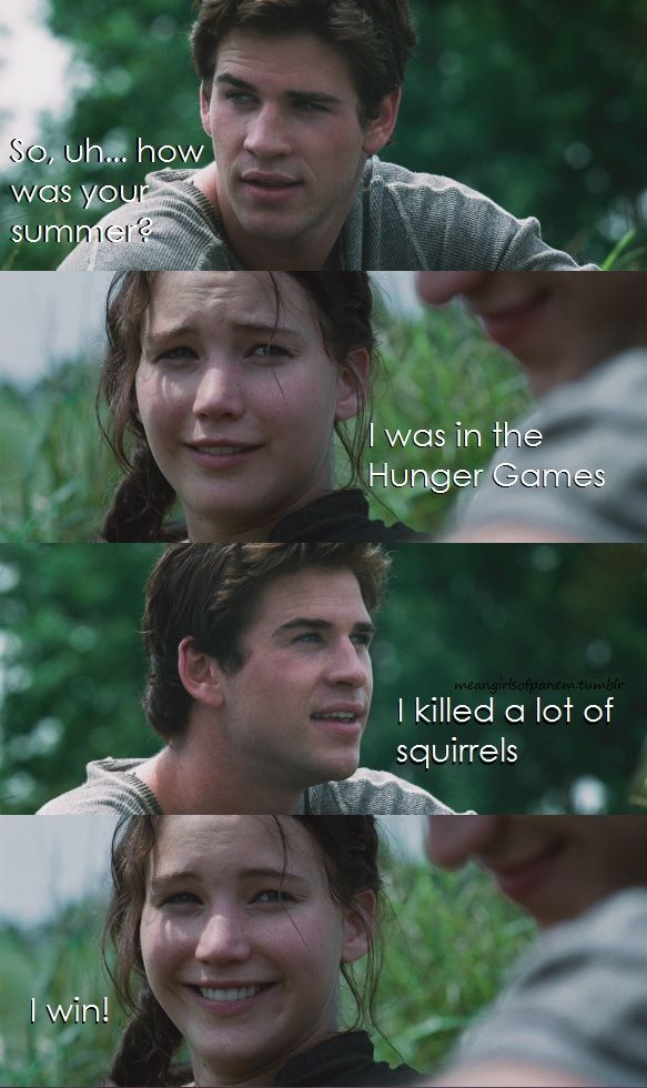 Mean Girls + Hunger Games!   Hunger games, Hunger games