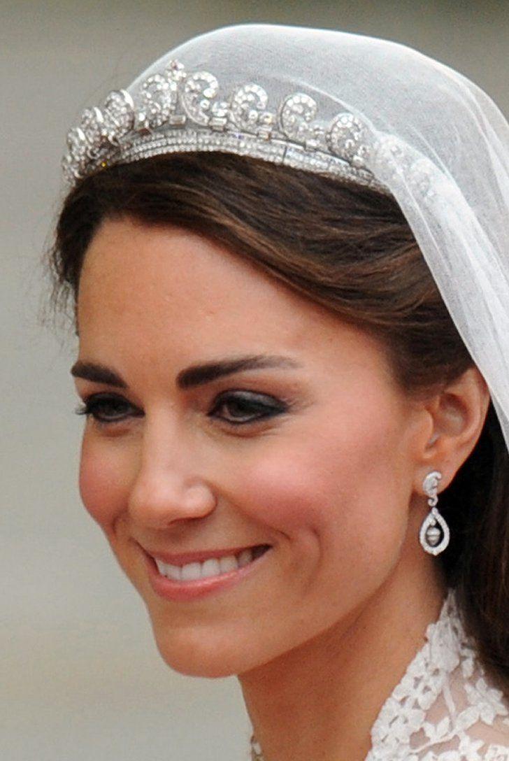 The Cartier Halo Tiara Kate Middleton Hochzeit Herzogin Catherine Konigliche Diademe