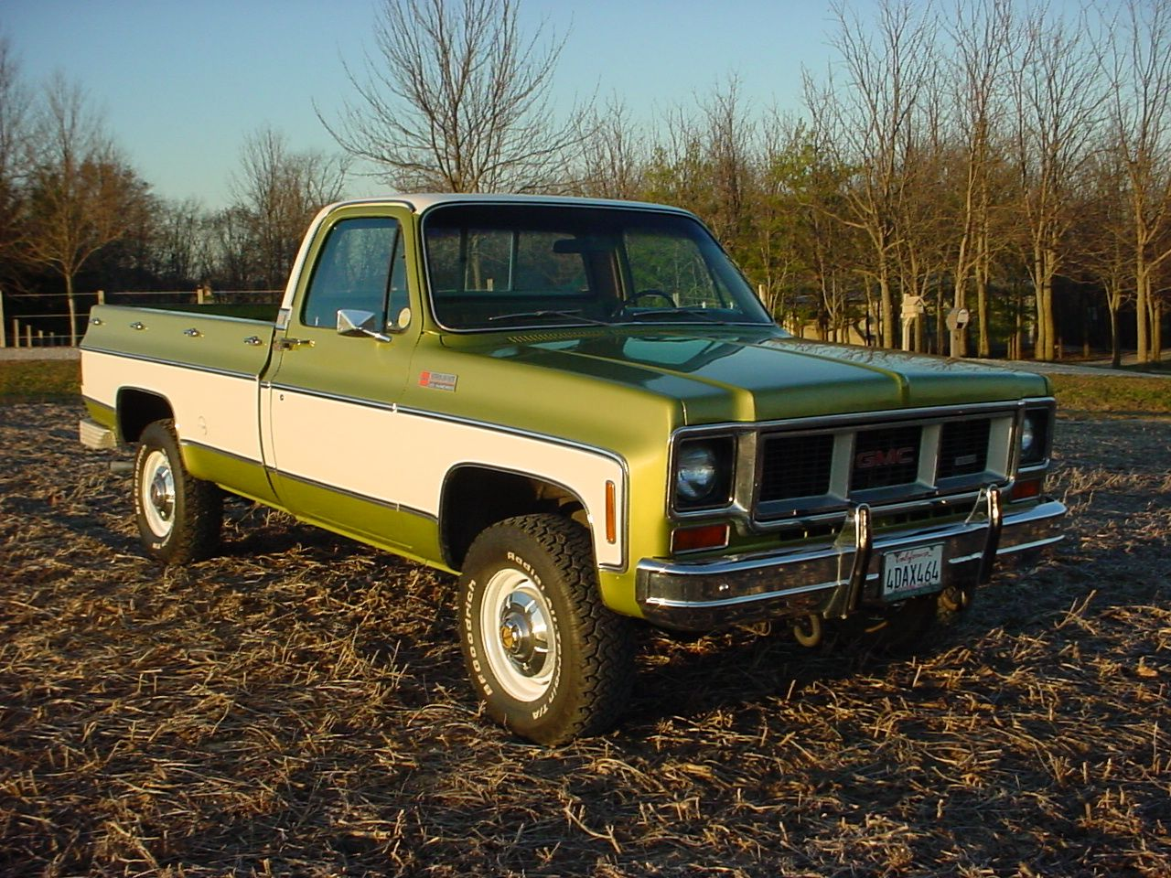 1973 GMC Sierra Camper Special - 3/4 ton with a 1 ton rear axle, my truck  was blue two-tone and is still running at my Mom's farm with over 250k  miles after ...