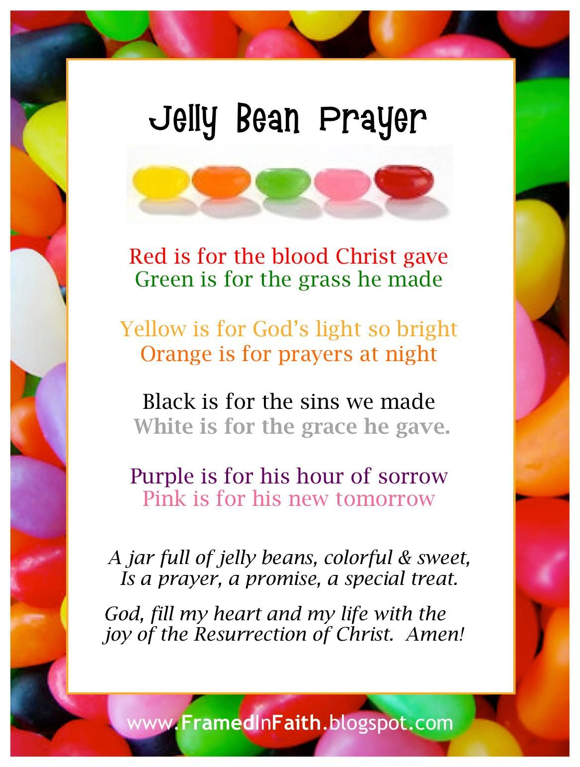 The Jelly Bean Prayer Great Object Lesson