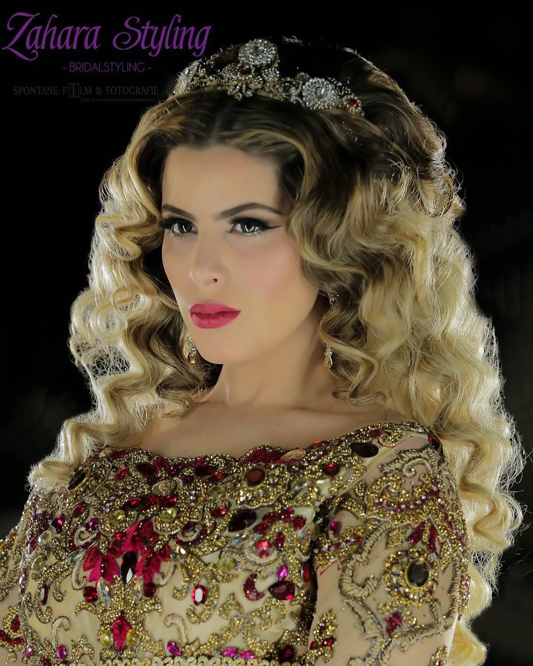 Spring bridal collection zahara styling model hajar photography by