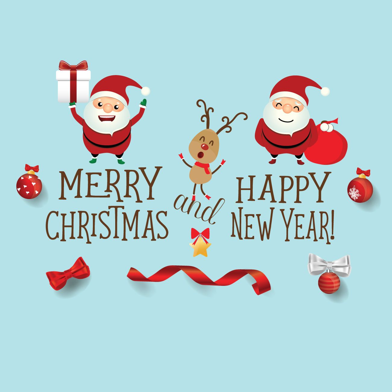 Merry Christmas And Happy New Year | Merry christmas ...