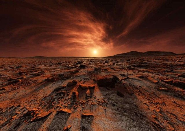 This Is What The Sunrise Looks Like On Mars Morning Sunrise - Sunrise looks like mars