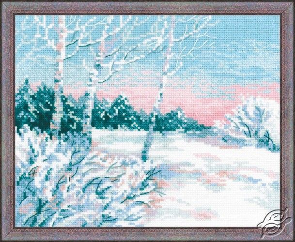 """/""""Winter Morning/"""" Counted Cross Stitch Kit RIOLIS 1541"""