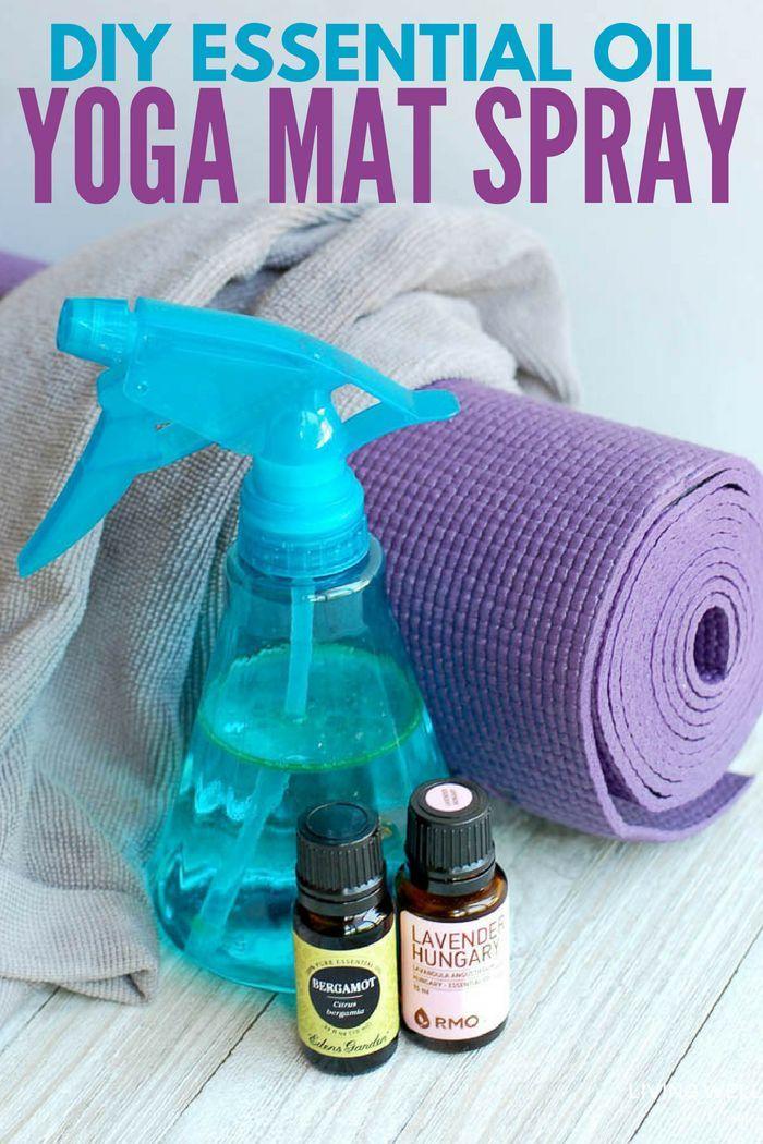 Diy Yoga Mat Cleaner Alcohol