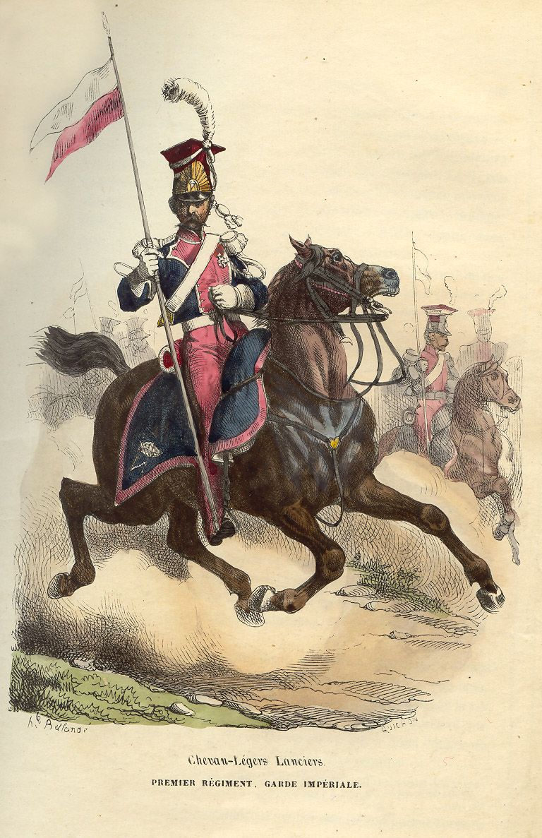A Lancer Of The First Regiment Garde Imperiale French Army Historical Warriors War Art