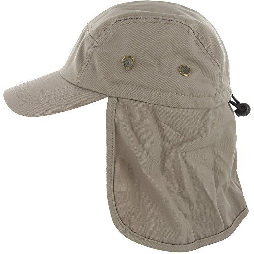 DealStock Fishing Cap with Ear and Neck Flap Cover - Outdoor Sun Protection      To view further for this item 01dec56daae2