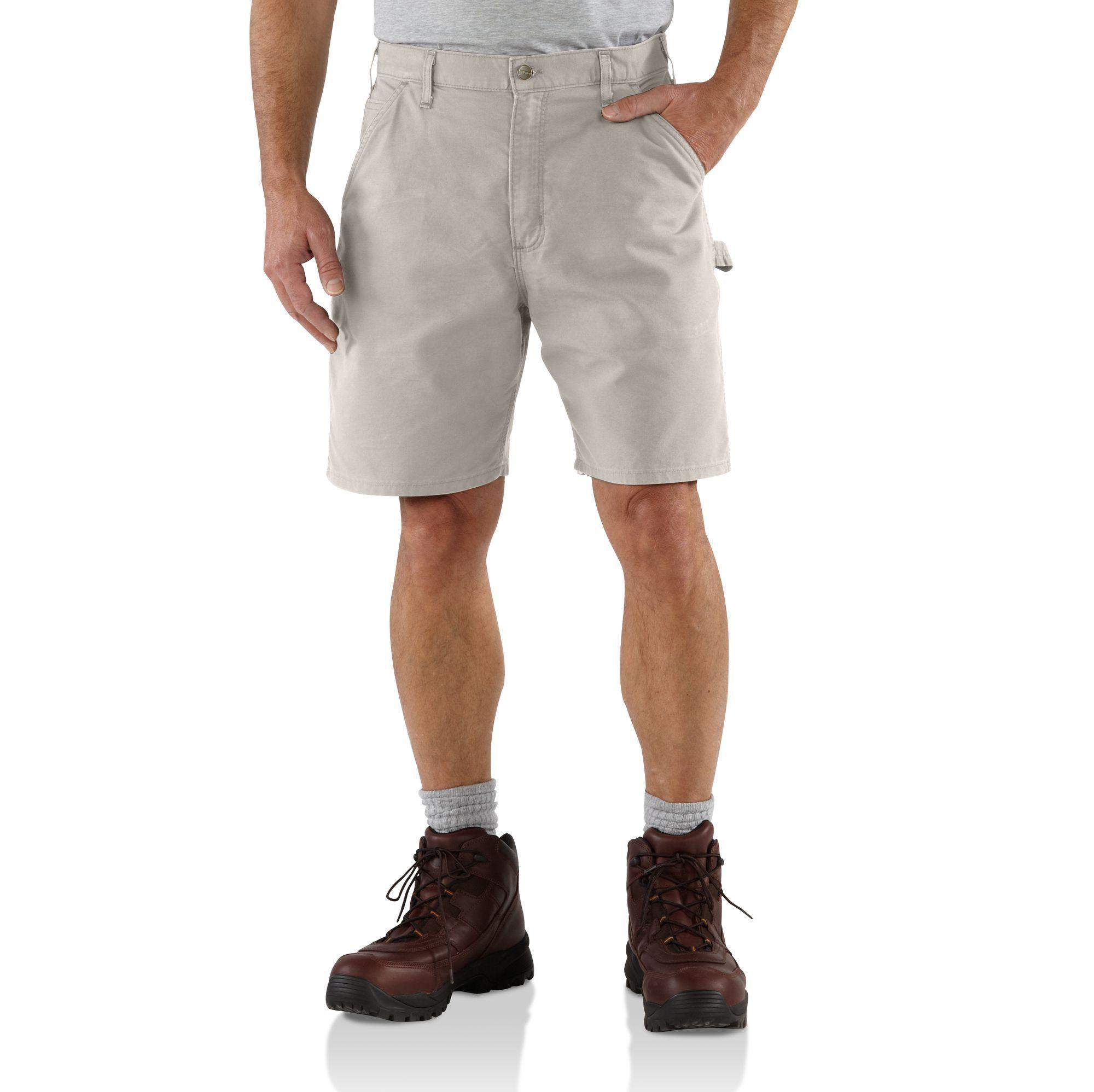 Carhartt Mens 11 Cotton Ripstop Cargo Work Short