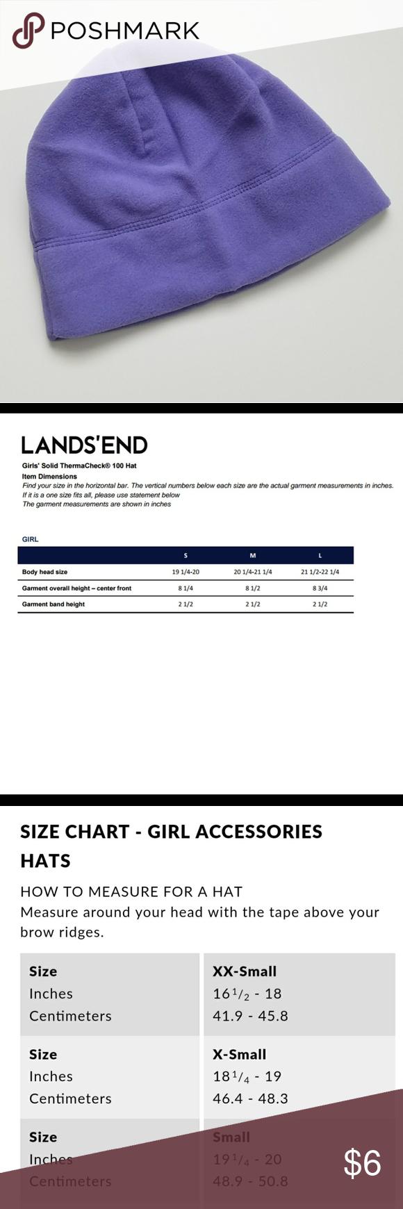 landsend size chart