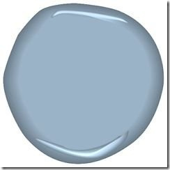 Paint Color Benjamin Moore Porcelain Glaze Csp 550