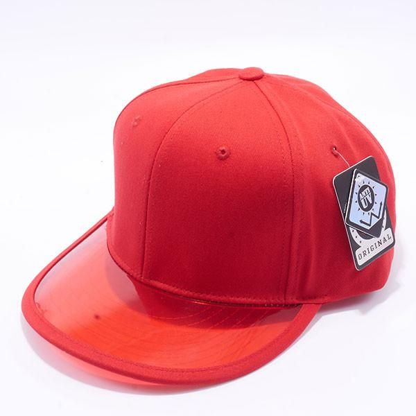 400291f29f3 Pit Bull Anti UV Transparency Visor Snapback Hats Wholesale  Red ...