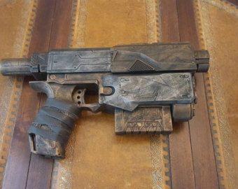 STEAMPUNK gun Nerf Jolt Nerf dart toy gun by IgnisFatuusBooks