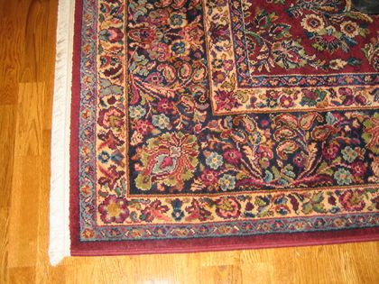 Nice ... One Of Our First Karastan Rugs ...