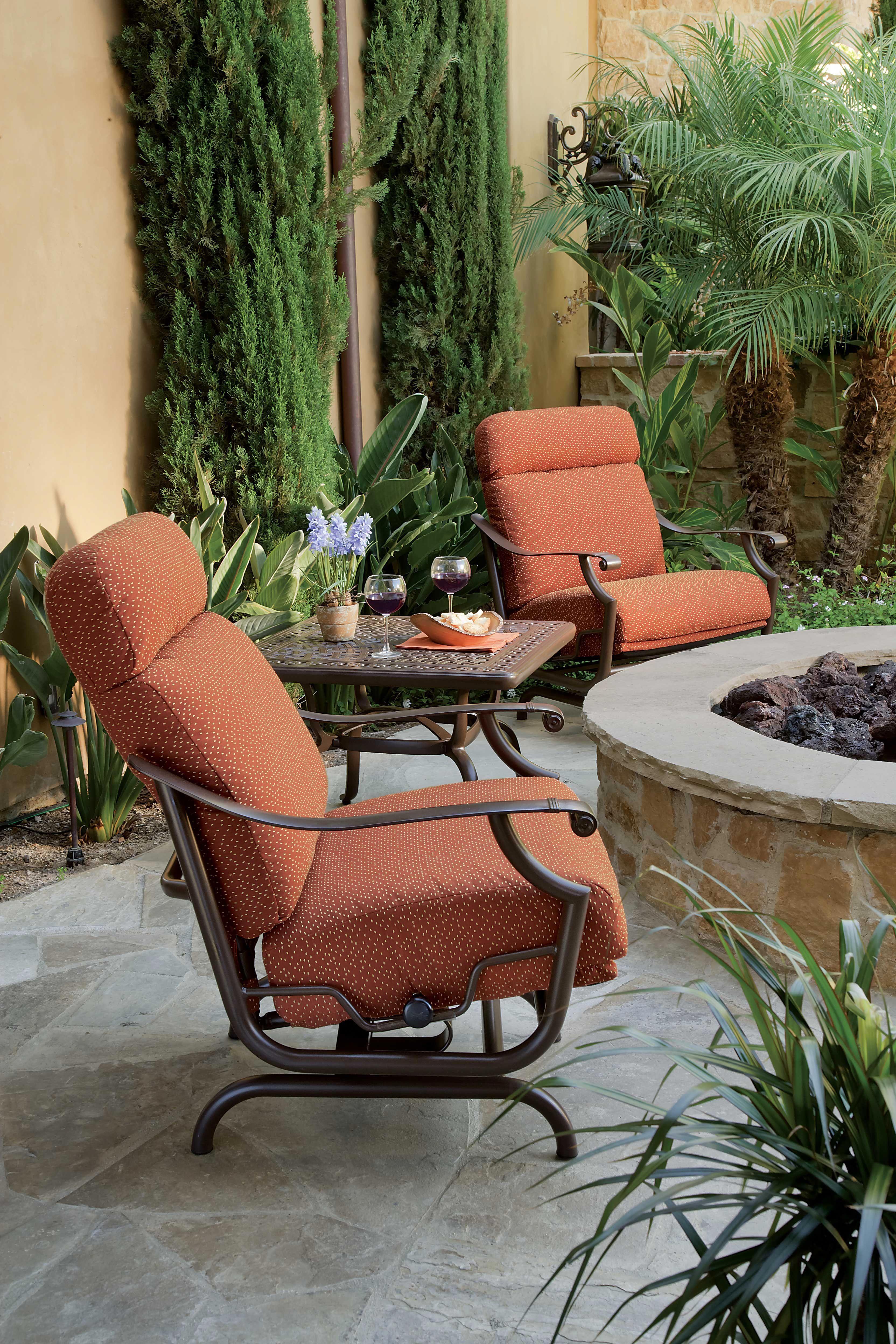 Montreux Cushion Action Lounger By Tropitone Patiofurnitureideas