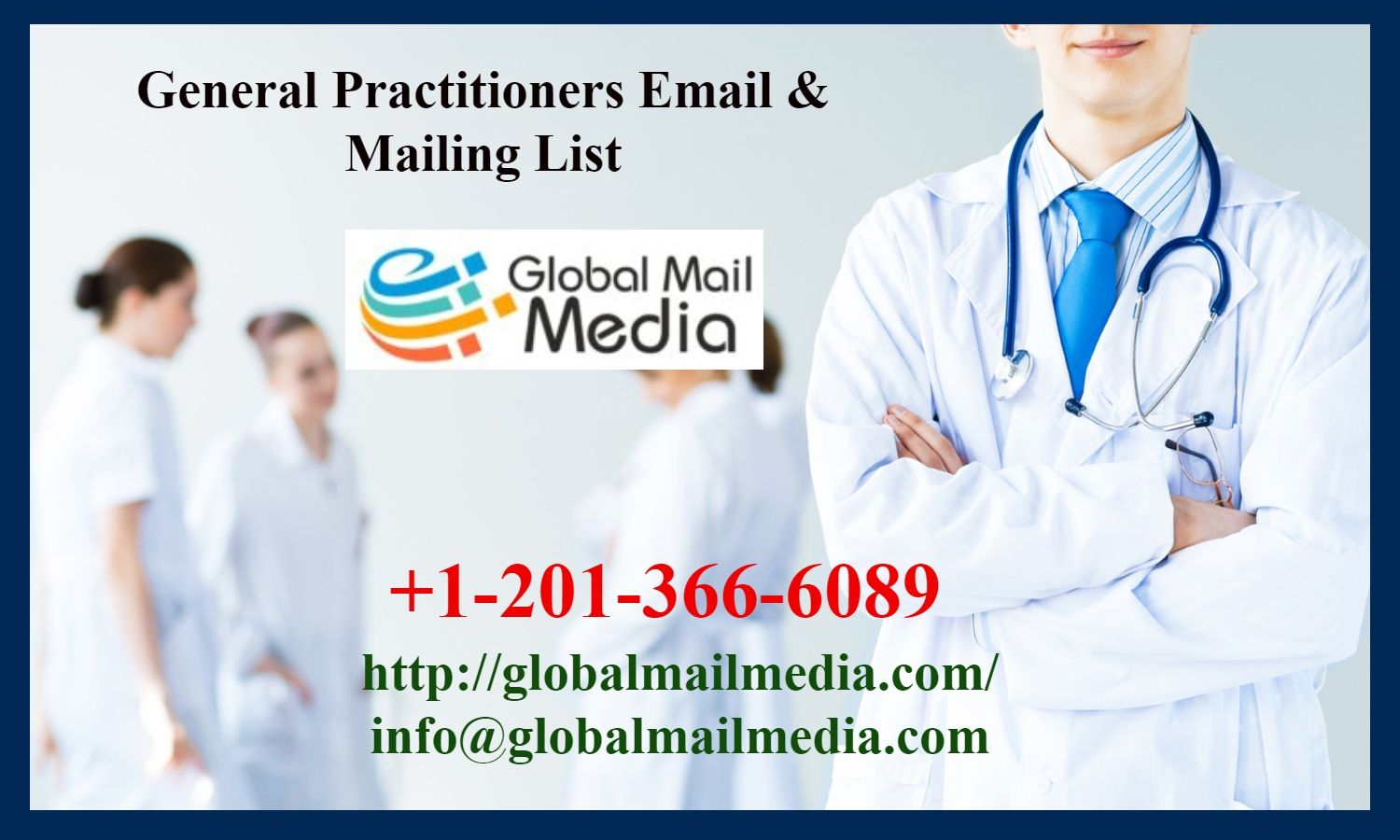 General Practitioners Email & Mailing List B2b marketing