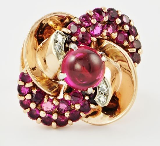 Vintage Ruby Ring | Perry's Fine Antique  Estate Jewelry