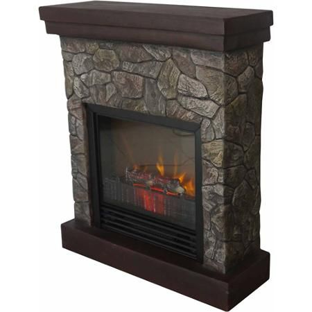 26 Polyfiber Electric Fireplace Tan Stone Electric Fireplace
