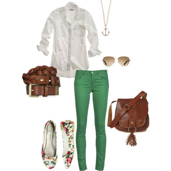 """""""colorful jeans"""" by jacoberly on Polyvore"""