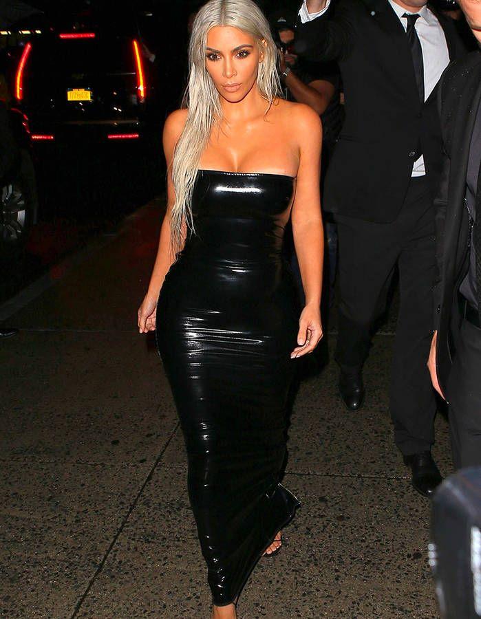 Kim Kardashian : nouveau look pour assister à la Fashion Week de ...