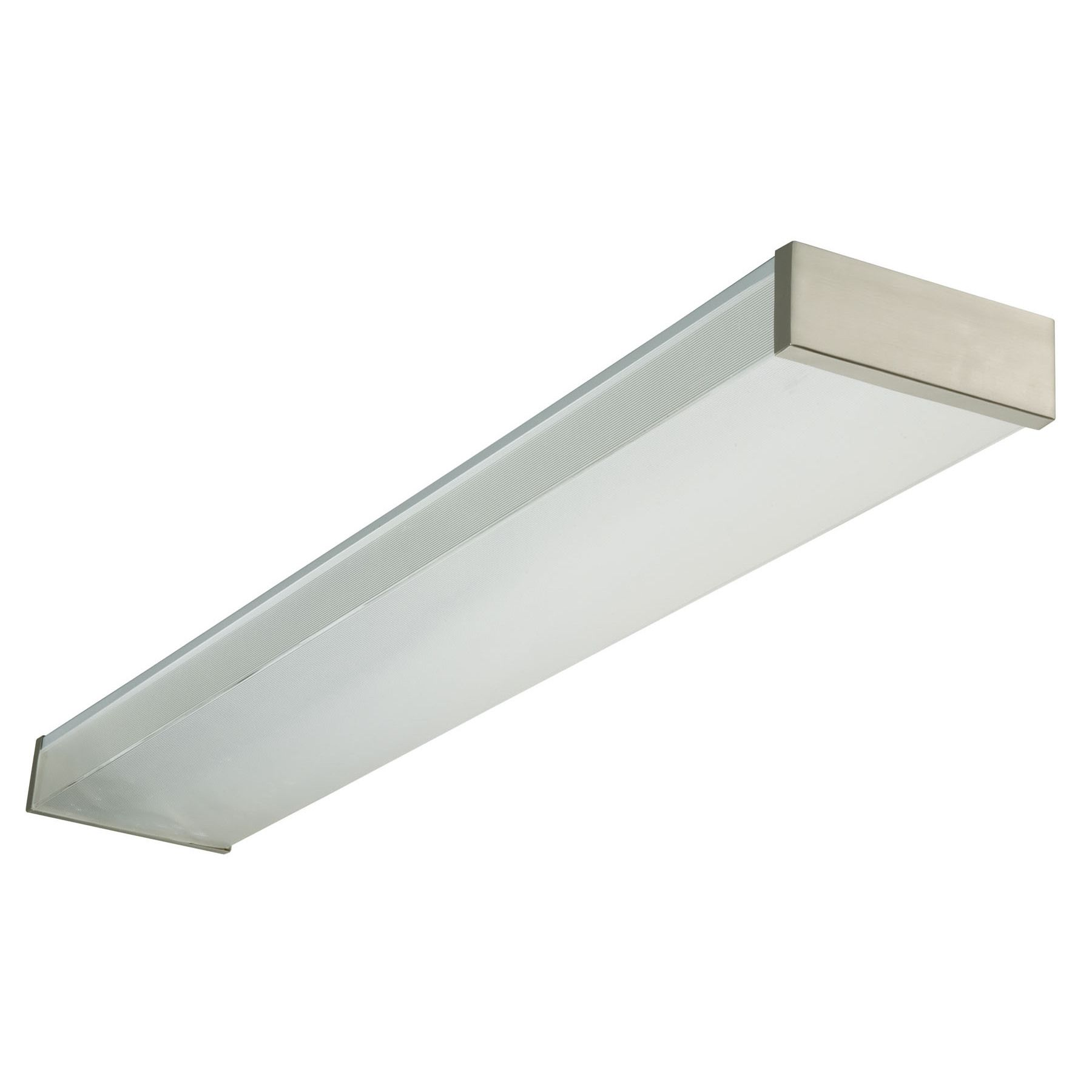 Lithonia Lighting NEW232120REBN 4' 32 Watt Brushed Nickel