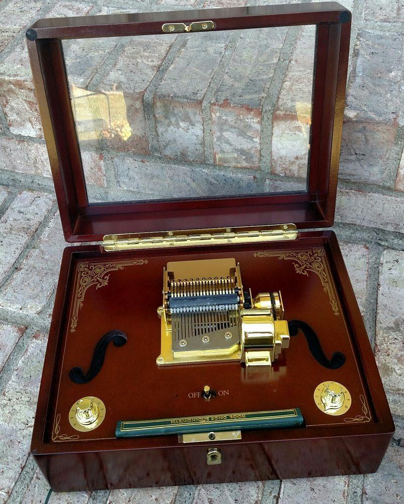 Mr. Christmas Gold Label Harmonique Music Box Plays 100 ...