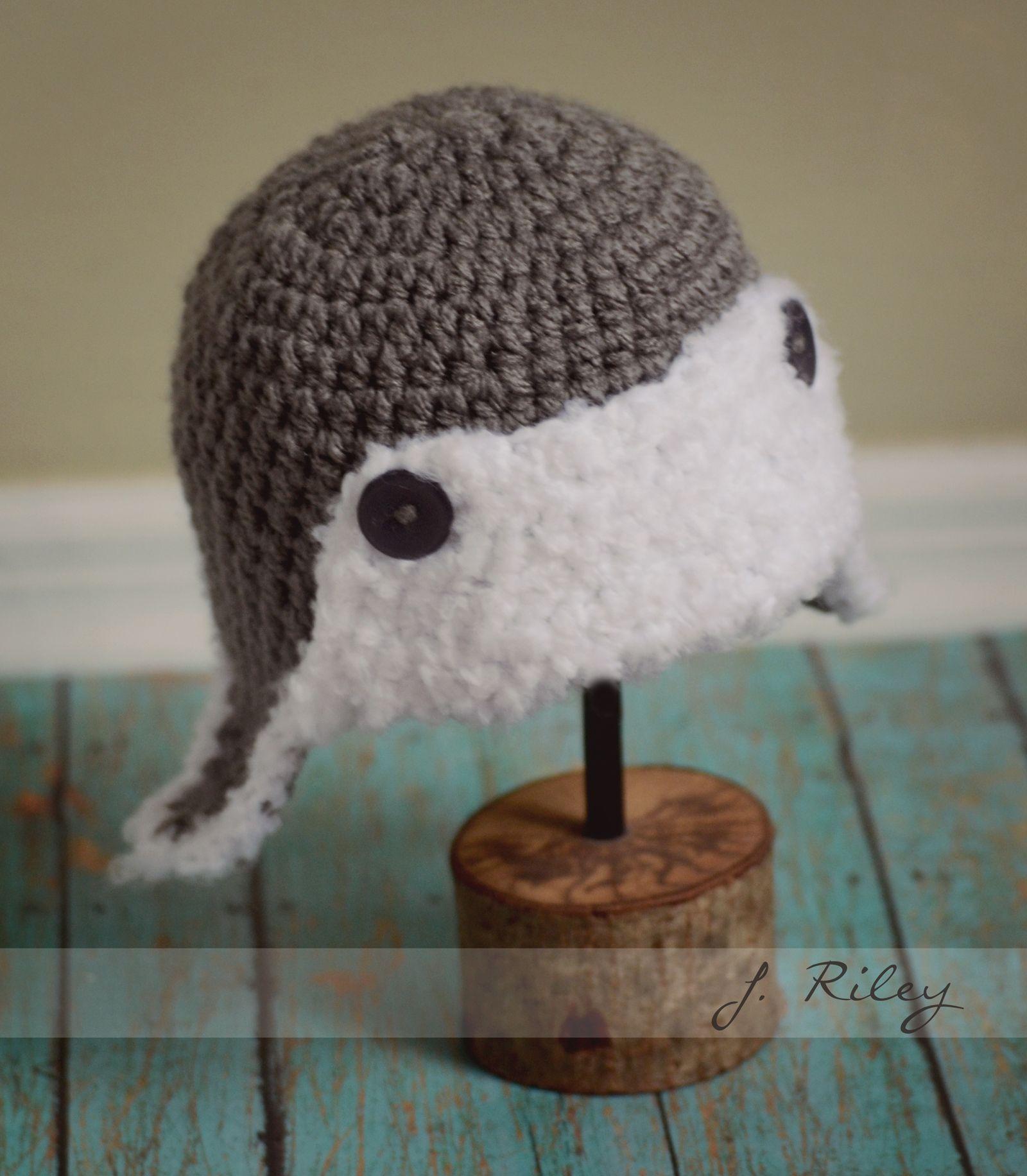 Baby aviator crochet hat inspiration only   Crochet hats ...