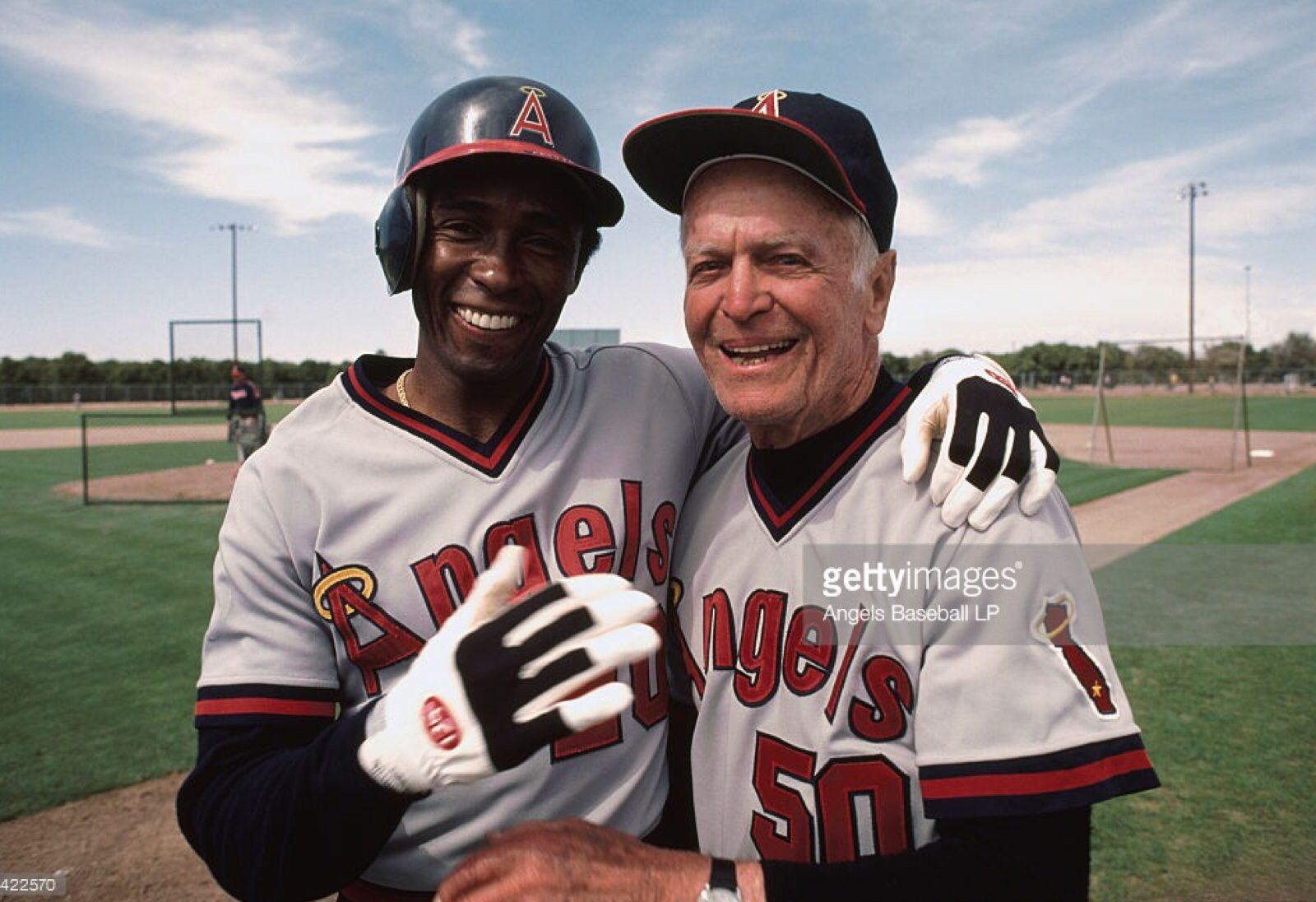 Gary Pettis And Jimmie Reese Once They Were Angels Baseball