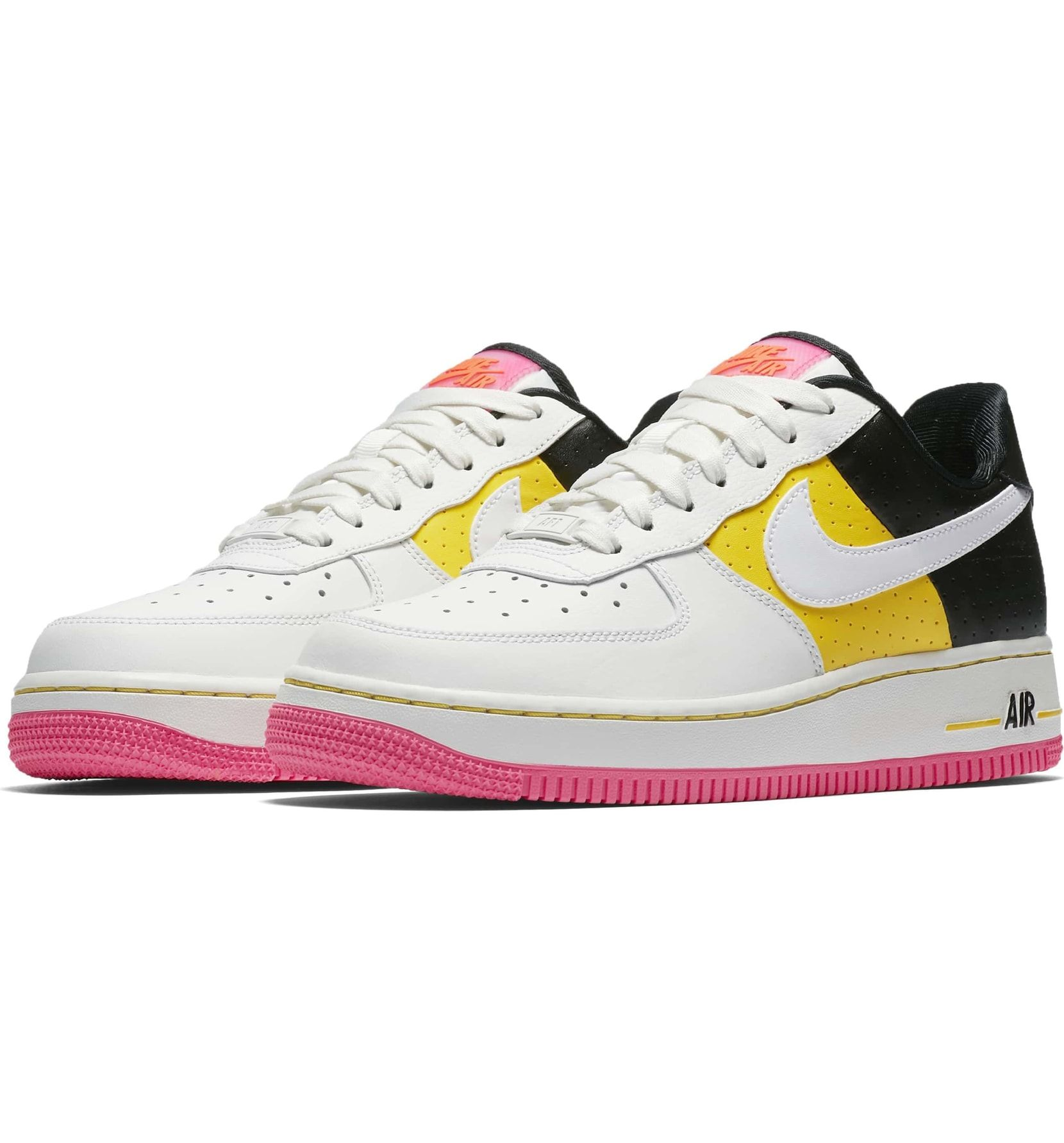 meet bdfbd 925b9 Air Force 1  07 SE Moto Sneaker, Main, color, Summit White  Yellow  Black