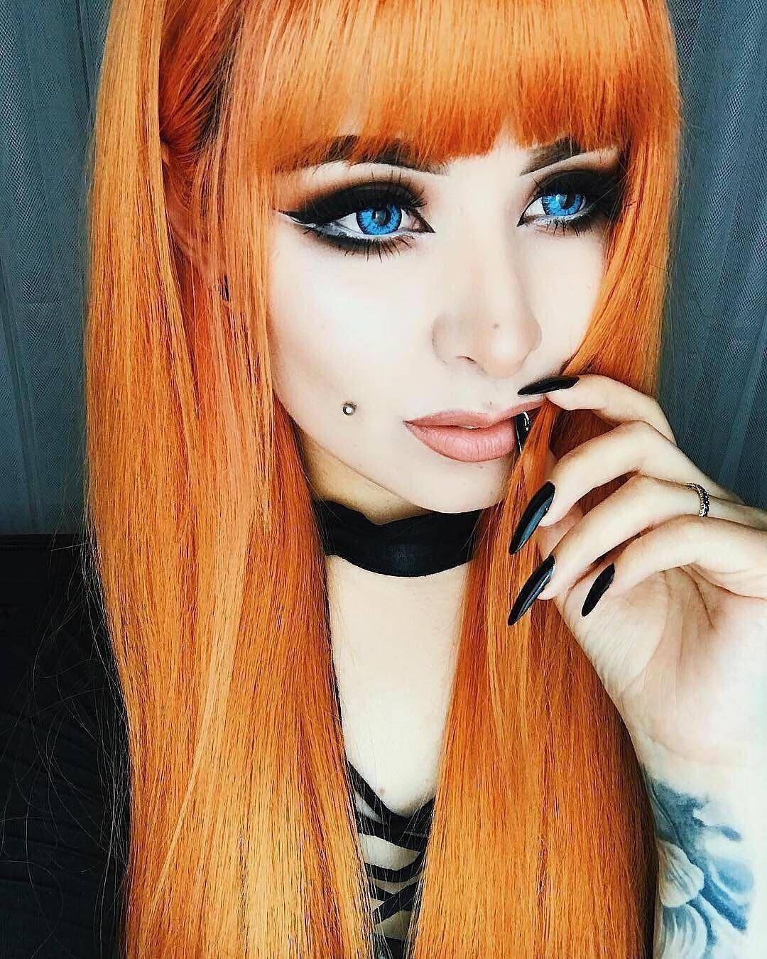Pin by alexandria 王女 on orange hair pinterest hair