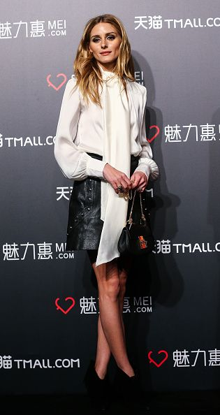 Olivia Palermo at the Tmall.com promotional event at Expo I-Pavilion in Shanghai on March 30, 2016