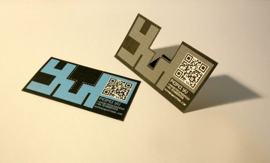 25 impressive examples of qr code business cards - Quick Response Code Business Card