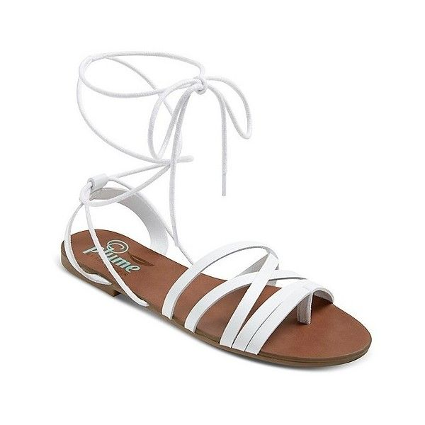 8e432c0a3709 Women s Plume Mason Woven Front Lace Up Sandal ( 26) ❤ liked on Polyvore  featuring shoes