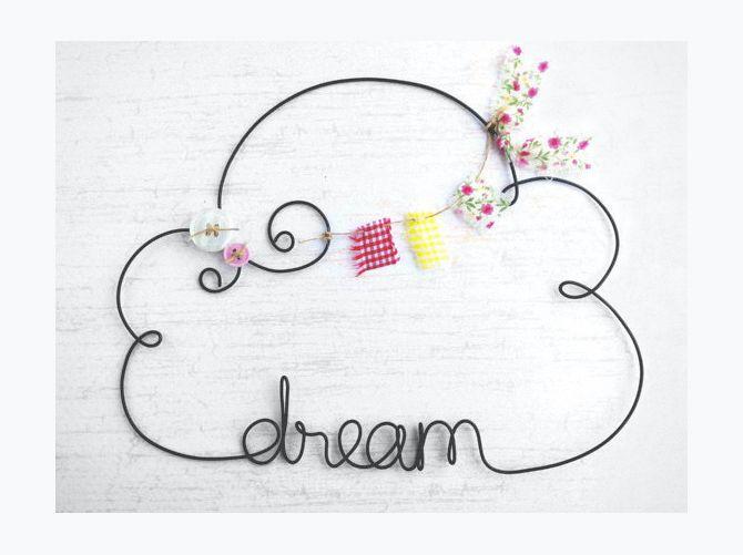 kraze4paper-personalized-cloud-shaped-name-sign   DIY 4   Pinterest ...