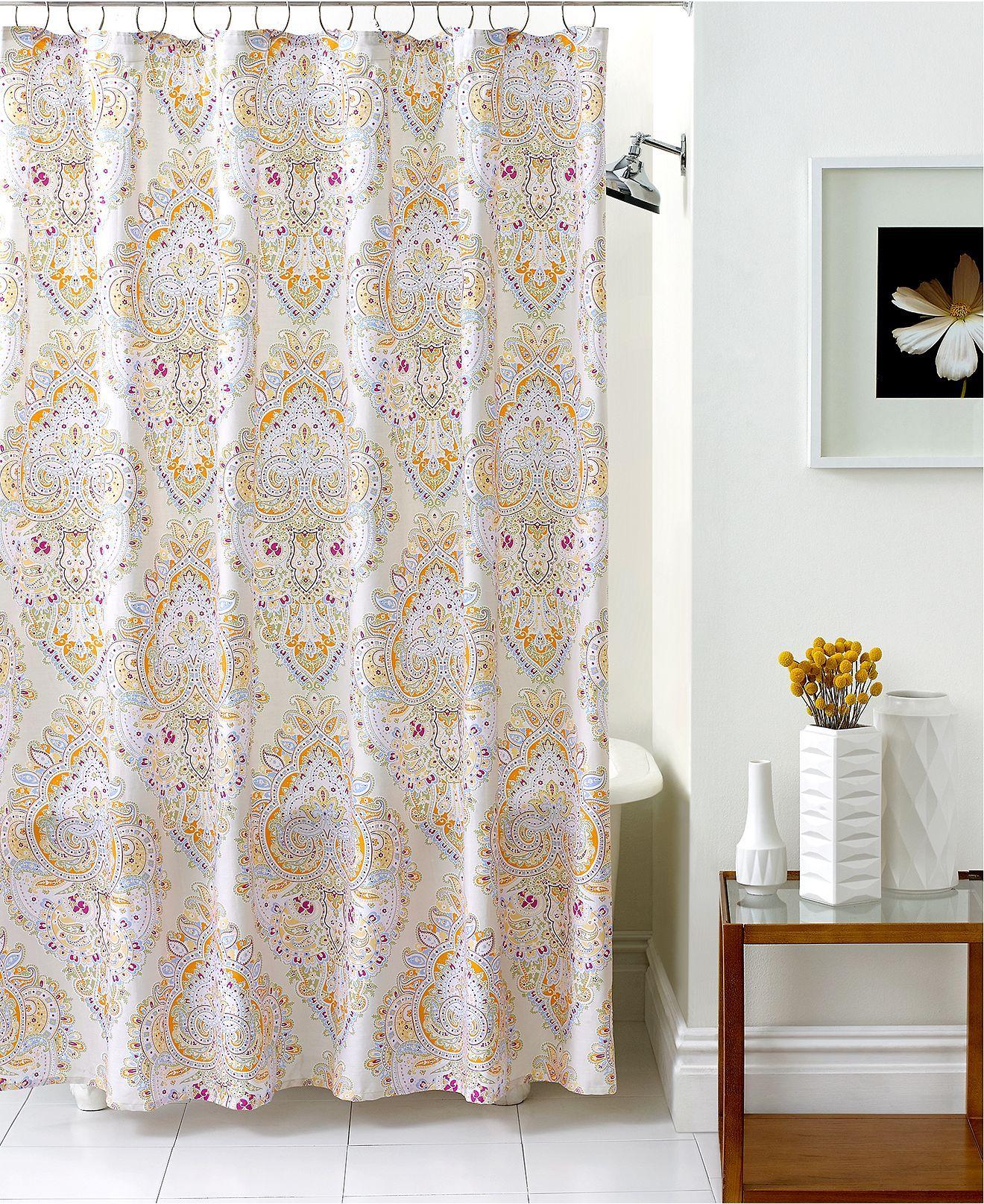 Echo Bath Accessories Laila Shower Curtain