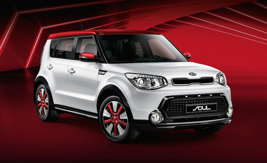 Kia Soul White Red Edition Form Und Funktion Kia Soul Kia Soul