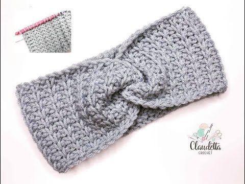 HEADBAND TUNISIAN CROCHET / EASY#crochet #easy #headband #tunisian