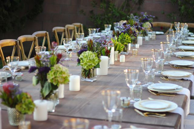 Let s gather farm to table dinner party nice floral