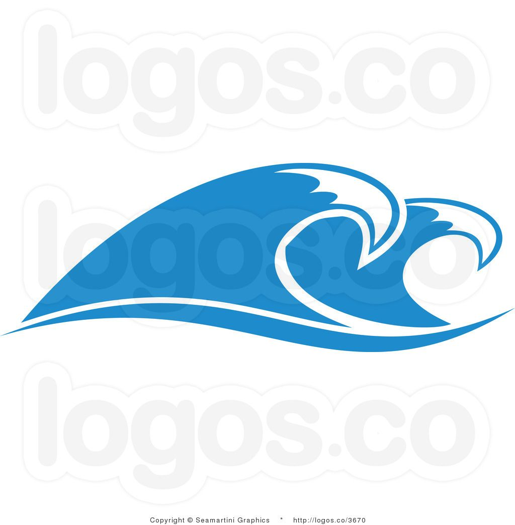 logo design royalty free ocean wave design logo by seamartini rh pinterest com  wave logo free download