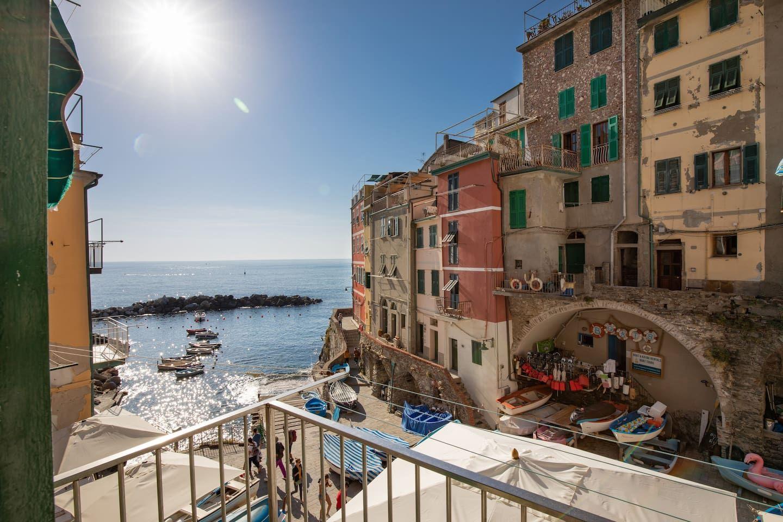 The Heart Of Cinque Terre marina's house - flats for rent in riomaggiore   riomaggiore