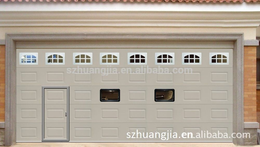 Guangdong Electric Roll Up Galvanized Steel Safe Entry Garage Doors With Pedestrian Door Wholesale Price Buy Steel Safe Guangdong Entry Doors Wholesale Prices Carriage House Garage Doors Garage Doors Entry Doors